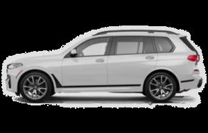 BMW X7 SIDE VIEW