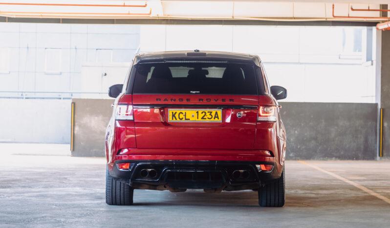 Range Rover Sport SVR full